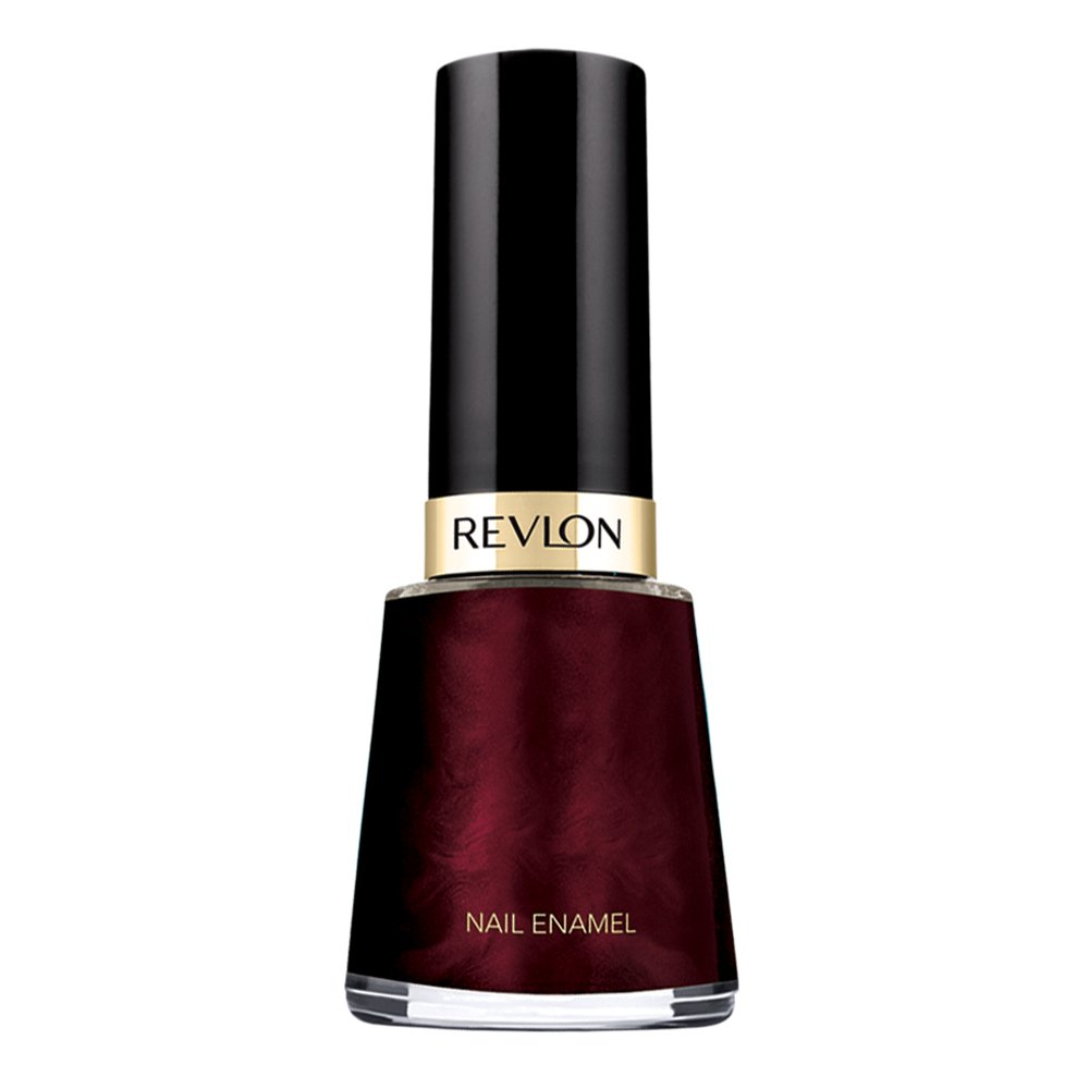 Revlon Nail Enamel, Chip Resistant Nail Polish, Glossy Shine Finish, in Plum/Berry, 660 Divine, 0.5 oz