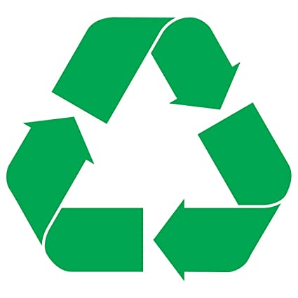 "Recycle Logo Sticker Decal Notebook Car Laptop 3"" ..."