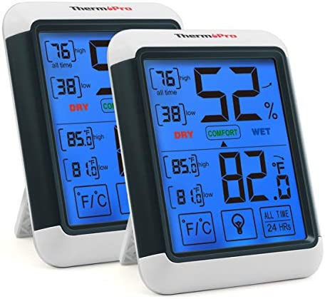 ThermoPro Hygrometer Thermometer Touchscreen Temperature product image