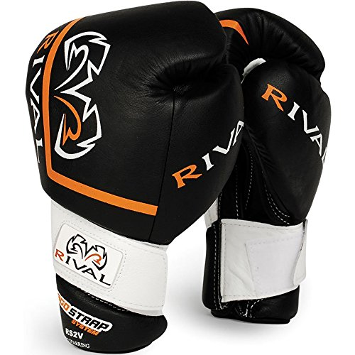 Rival High Performance Pro Sparring Gloves - 16 oz - Black