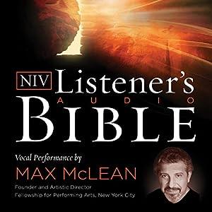 The NIV Listener's Audio Bible, New Testament Audiobook