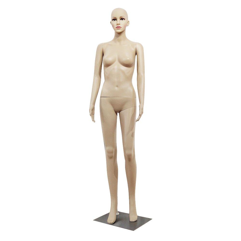 HomestorageCC XSL6 Female Straight Hand Bent Foot body model Mannequin Skin Color