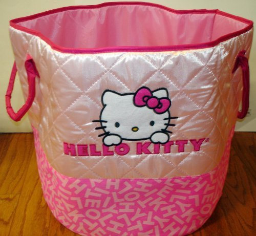 Hello Kitty Pail (Hello Kitty Quilted Bucket)