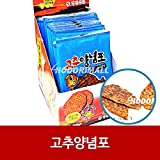 Hot Pepper Sauce Fish Jerky Snack 5g x 800 고추양념포