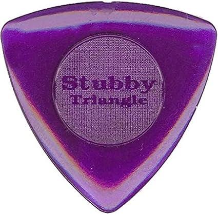 6//Player/'s Pack 3.0mm Dunlop 473P3.0 Tri Stubby Dark Purple