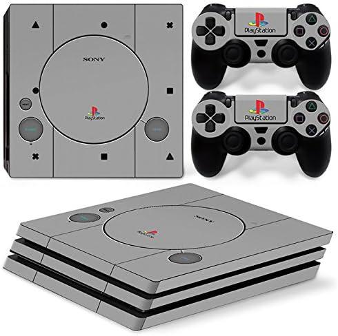 Sony PS4 Playstation 4 Pro Skin Design Foils Pegatina Set - Retro ...