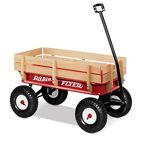 Radio Flyer All-Terrain WAGON Ride on by Radio Flyer