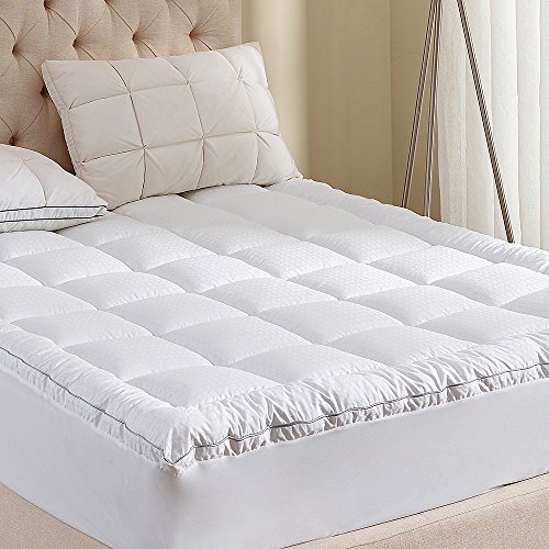 Mattress Pad California King Size 400tc Cotton Top 3m