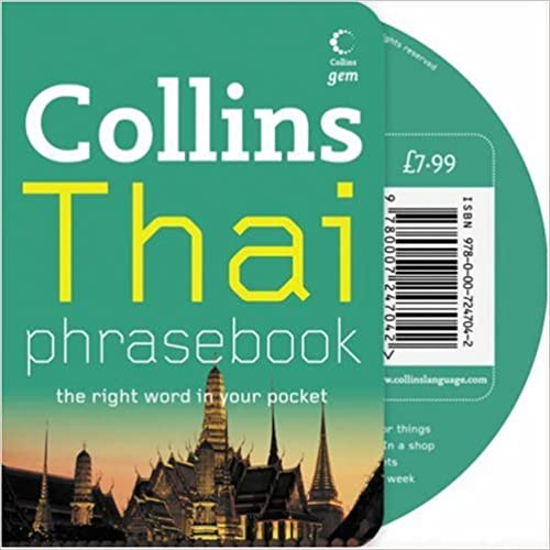 Book Collins Gem - Thai Phrasebook and CD Pack