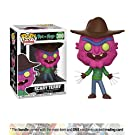 Scary Terry: Funko POP! Animation x Rick & Morty Vinyl Figure + 1 American Cartoon Themed Trading Card Bundle (12599)