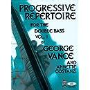 Progressive Repertoire for the Double Bass, Vol. 1 (Book & CD)