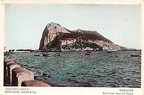 Rock from Spanish Shore Gibraltar - Spanish In Shore