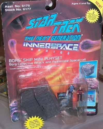 Star Trek Spacecraft (STAR TREK THE NEXT GENERATION INNERSPACE SERIES BORG COLLECTIVE ATTACK AND ASSIMILATE SPACECRAFT by Playmate)