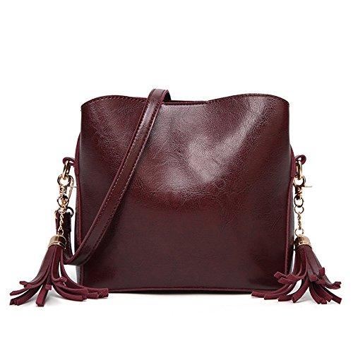 Borsa A Tracolla Piccola Borsa A Tracolla In Pelle PU Messenger Bag A Tracolla Piccola Moda Femminile Coffee