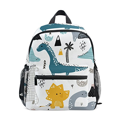 Cute Kids Toddler Backpack Dino Scandinavian Style Children Bag