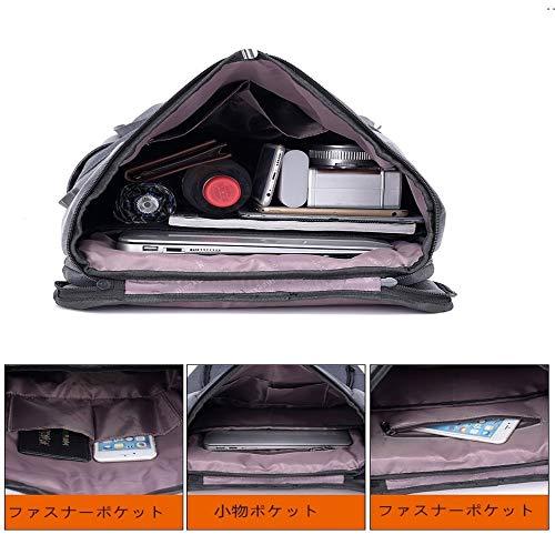 carica scuro Olprkgdg Zaino 6 pollici multifunzionale per impermeabile computer 15 colore Nero grigio con USB UzOIqz