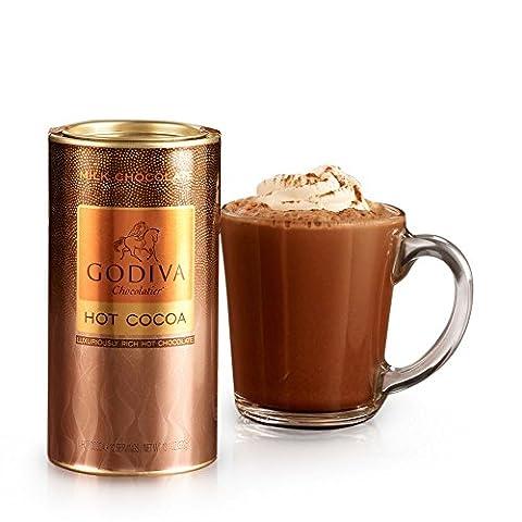 GODIVA Chocolatier Milk Chocolate Hot Cocoa Canister 13.1oz - Hot Chocolate With Cocoa Powder
