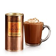 GODIVA Chocolatier Milk Chocolate Hot Cocoa Canister 13.1oz
