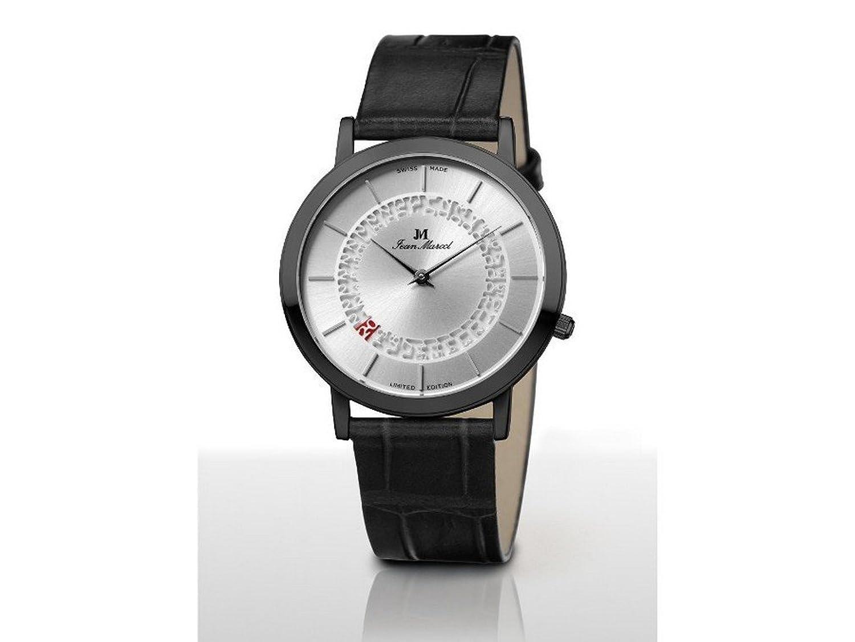 Jean Marcel Herren-Armbanduhr Ultraflach 165.302.52