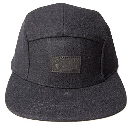 5-Panel-Hats-One-Size-SolidBlack
