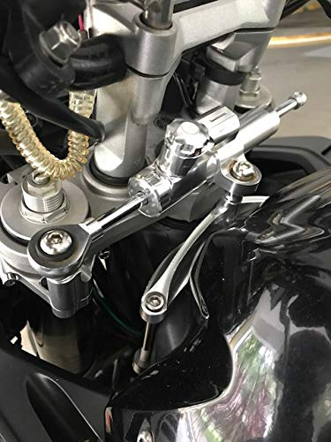 FXCNC Racing Motorcycle CNC Steering Damper Stabilizer Buffer Control Bar With Mounting Bracket Kit Full Set Fit For Yamaha FZ1 FAZER 2006-2015