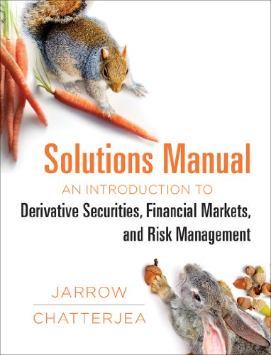 Pdf Science Solutions Manual: for: An Introduction to Derivative Securities, Financial Markets, and Risk Management