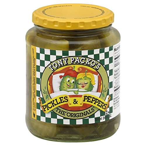 Pepper Pickles (Tony Packos Original Pickles & Peppers - 24oz)