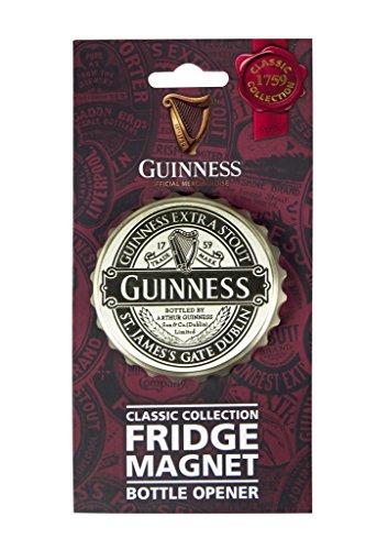 Guinness Classic Cap Bottle Opener Magnet