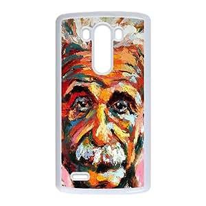 LG G3 Cell Phone Case White Einstein G8Q0U