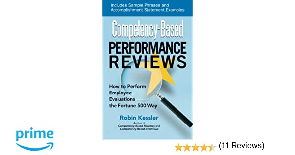 Conduct Employee Evaluations Competencybased Performance Reviews