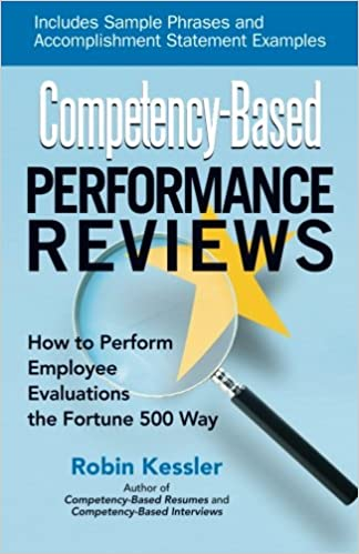 CompetencyBased Performance Reviews Robin Kessler