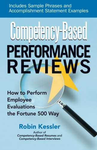 competency based performance reviews robin kessler 9781564149817