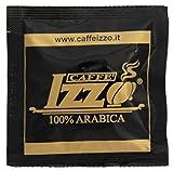 Caffè Izzo: ''Arabica 100% Passion'' Arabica ESE Espresso Pods 150 Count [ Italian Import ]
