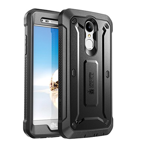 (SUPCASE Unicorn Beetle Pro Case for LG Aristo 2 Plus/LG Aristo 2 / Tribute Dynasty/Fortune 2/ Rebel 3 LTE, with Built-in Screen Protector for LG Aristo / K8 2017/ Phoenix 3/ Risio 2 (Black))