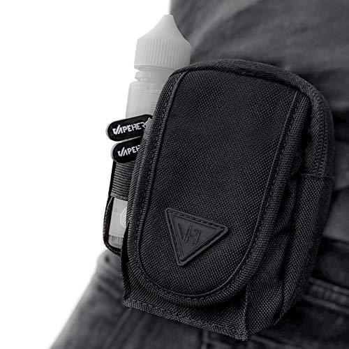 VapeHero® E-Zigaretten Gürtel- und Vape Hüft-Tasche   Immer dabei Mod, Liquid und Zubehör   komplett verschließbar…