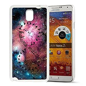 Africa Ancient Proverb KOKOJIA Color Accelerating Universe Star Design Pattern HD Durable Hard Plastic Case Cover for Samsung Galaxy Note 3