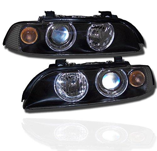 bmw 528i black headlights - 4