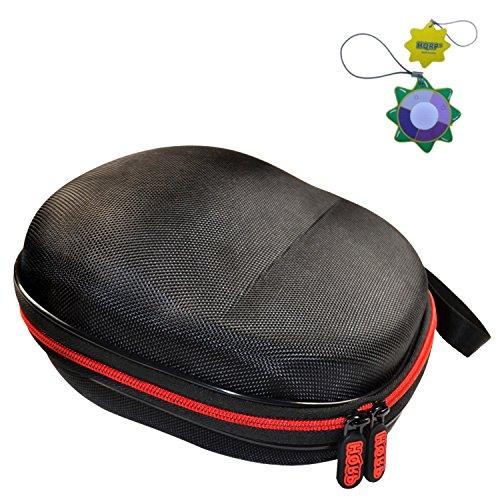 HQRP Hard Case for Plantronics Backbeat Pro, Pro+, Pro 2 Headphones Plus HQRP UV Meter