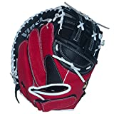 Vinci Fortus 32.5'' Fast Pitch Catchers Mitt Red/Black Right Handed Thrower