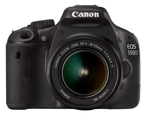 Canon EOS 550D (European EOS Rebel T2i) 18 MP CMOS APS-C Digital SLR Camera with 3.0-Inch LCD and EF-S 18-55mm f/3.5-5.6 IS Lens (Body & Lens made in Japan) (Body 550d)