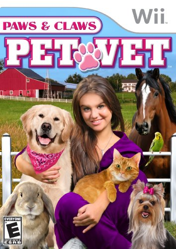 Vet Claws Paws - Paws And Claws Pet Vet - Nintendo Wii