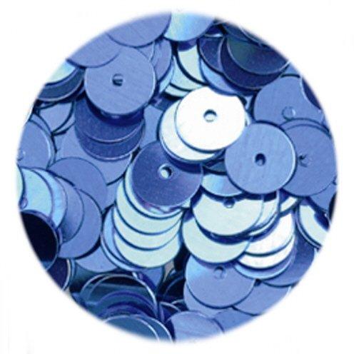 efco Plano Redondo Lentejuelas, Azul Claro, 6mm, 5g, 500 1027147