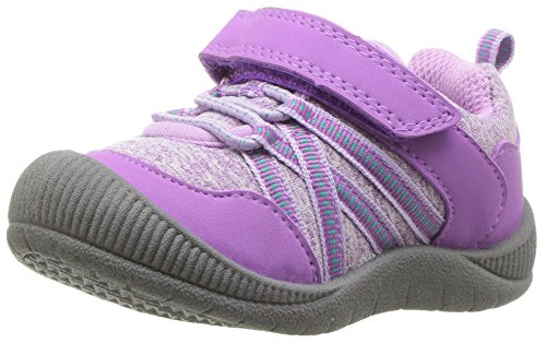 OshKosh B'Gosh Girls' Nova Sneaker, Purple, 9 M US Toddler