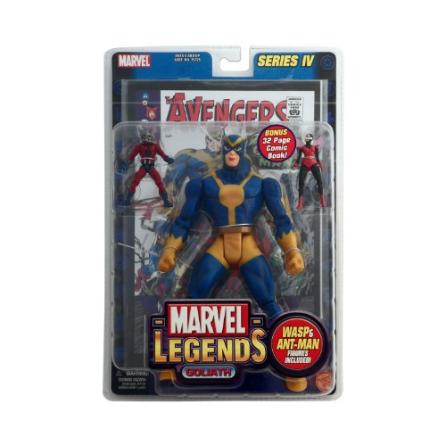 Toy Biz Marvel Legends Series 4 Goliath Action Figure