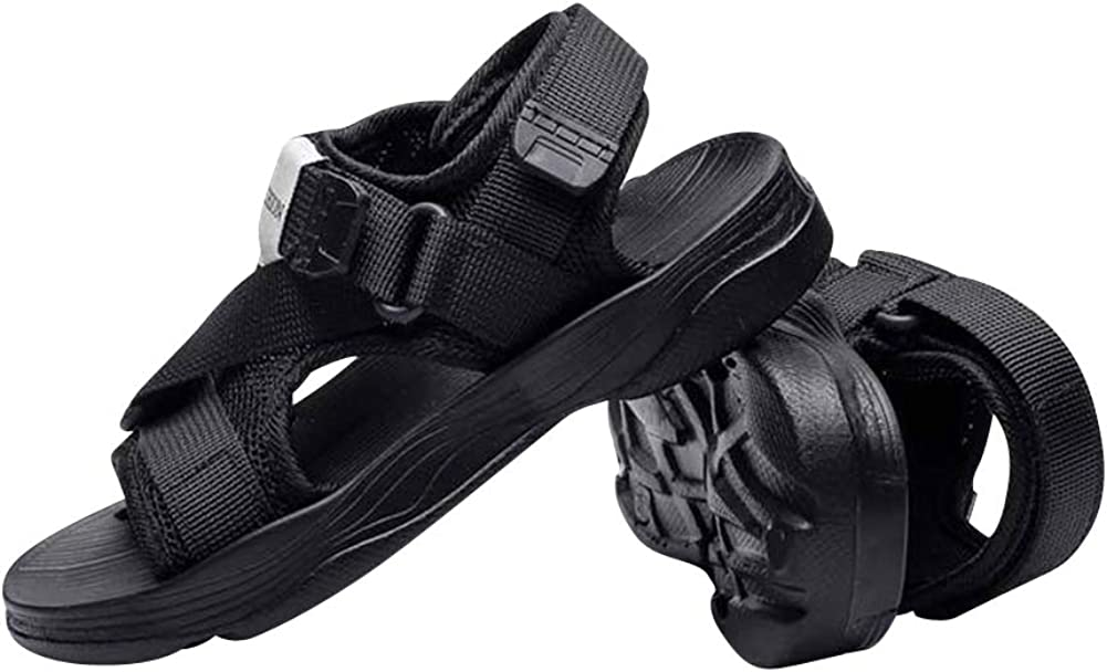 Baviue Leather Hiking Beach Open Toe Sandals for Boys Sandles