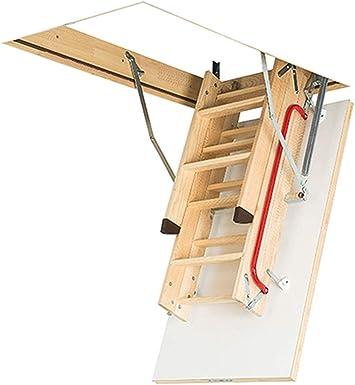 FAKRO suelo Escaleras LWK comodidad Plus 60 x 100 x 280: Amazon.es ...