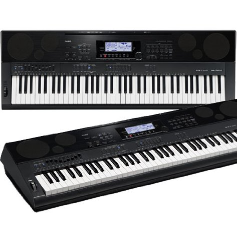 Casio WK7500 76 Key Touch Sensitive Workstation Keyboard from Casio