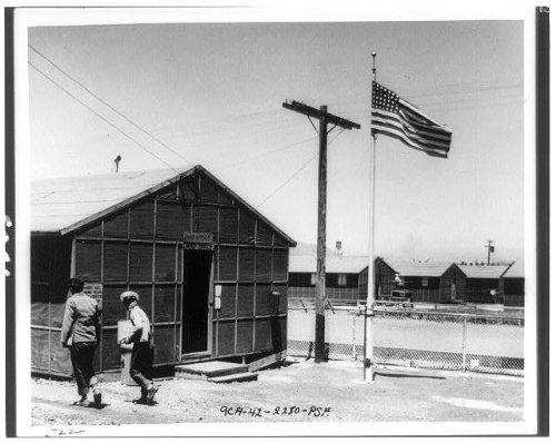 Photo: Tanforan Assembly Center,California,CA,World War,WWII,U.S. Branch Post - Tanforan Ca