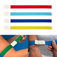 GUOYIHUA 1pc(Random Color)Tourniquet Strap,for First Aid Response/Hiking and Emergency Kits/Emergencies and occluding Blood Flow