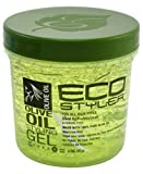 ECOCO EcoStyler Styling Gel, Olive Oil, 16 oz (Pack of 12)